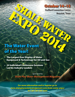 Shale Water EXPO 2014 Promo